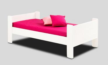 Wooden Base Single Bed