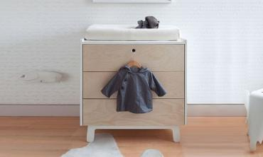 Nursery Storage Units with Changing Tables