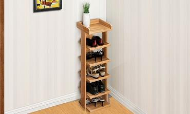 Tower Organiser for Five Pairs of Shoes