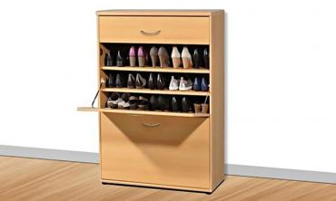 Two-Door Big Foot Shoe Cabinet