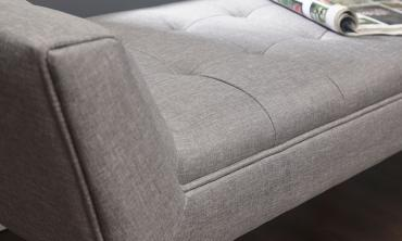 Milan Upholstered Chaise