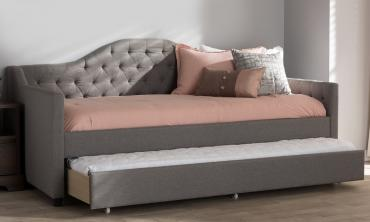 Perry Modern and Contemporary Fabric Daybed