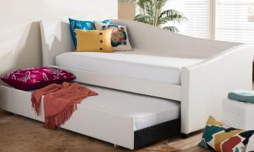 Vera Twin Daybed with Pull-Out Trundle Guest Bed