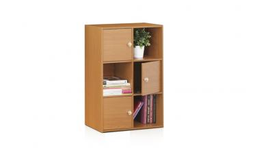 Pasir 3-Tier Shelf w/3 Door/Round Handle