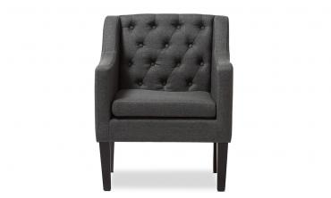 Larkin Upholstered Button-tufted Modern Club Chair