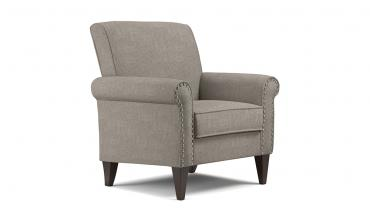 Jean Dove Grey Linen Arm Chair