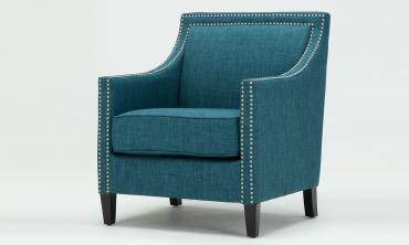 Tanner Teal Accent Chair