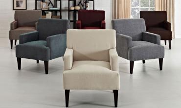 Corktown Cochrane Solid Pattern Accent Chair