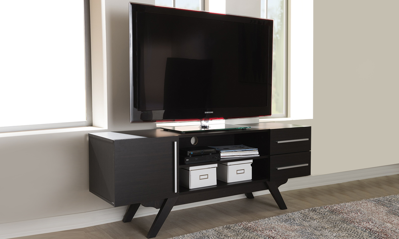 Ashfield Wood Tv Stand Dark Brown From Aed 849 A To Z