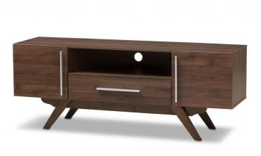 Ashfield Wood TV Stand (Walnut)