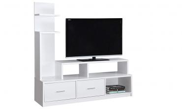 TV Stand Dark Taupe With A Display Tower