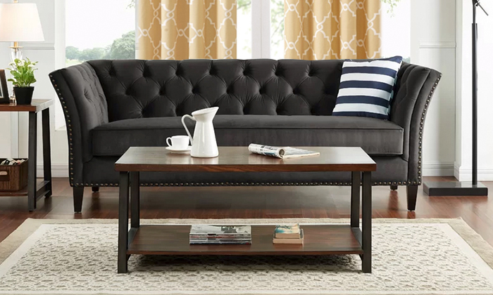 Gilmore Chesterfield Sofa From Aed 1749