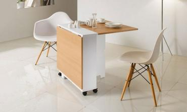 Folding Dining Table in Choice of Colour