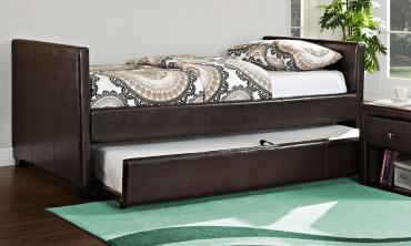 Metro Faux Leather Day Bed