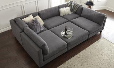 Chelsea Modular Sectional With Ottoman