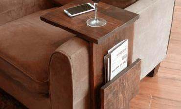 Simply Awesome Couch Sofa Arm Rest Tray Table
