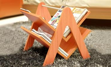 Portable Magazine Rack