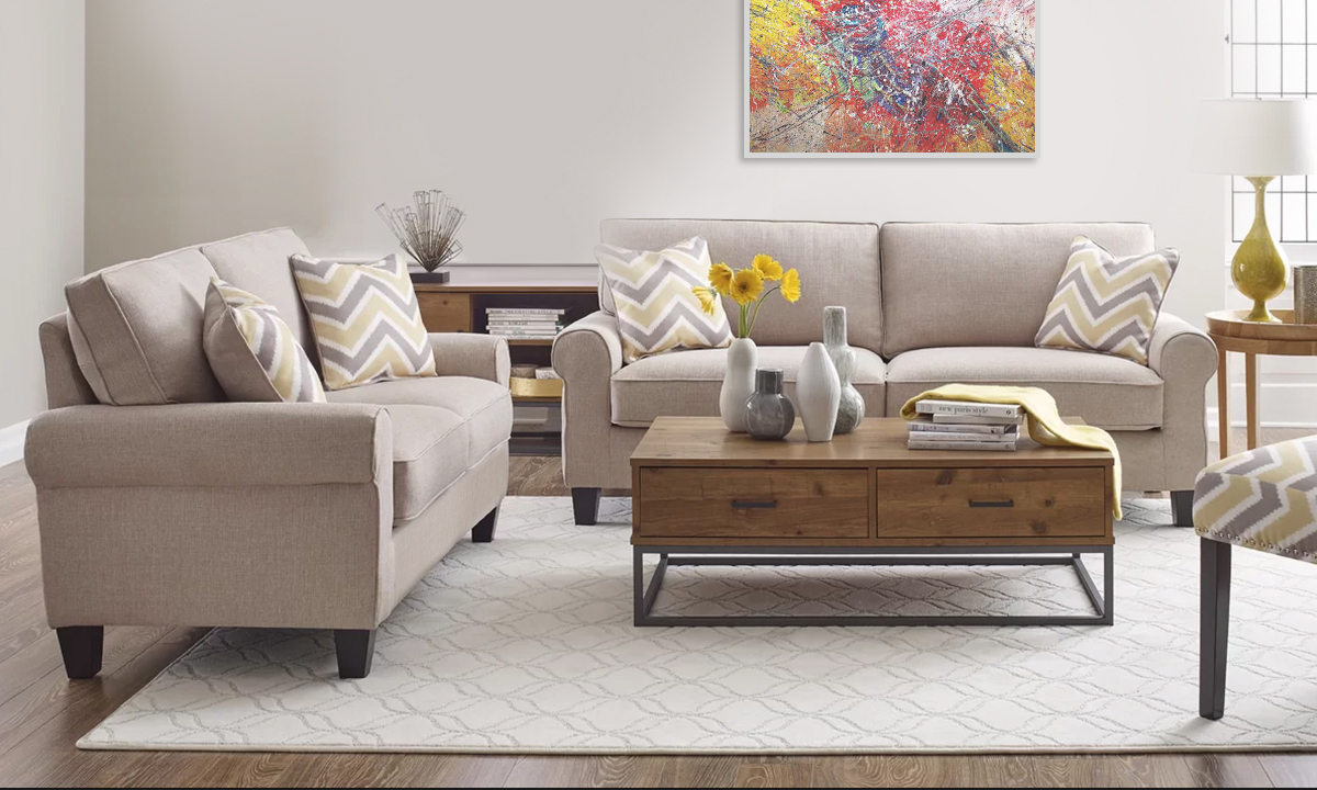 Admirable Serta Copenhagen Loveseat From Aed 1299 A To Z Furniture Gmtry Best Dining Table And Chair Ideas Images Gmtryco