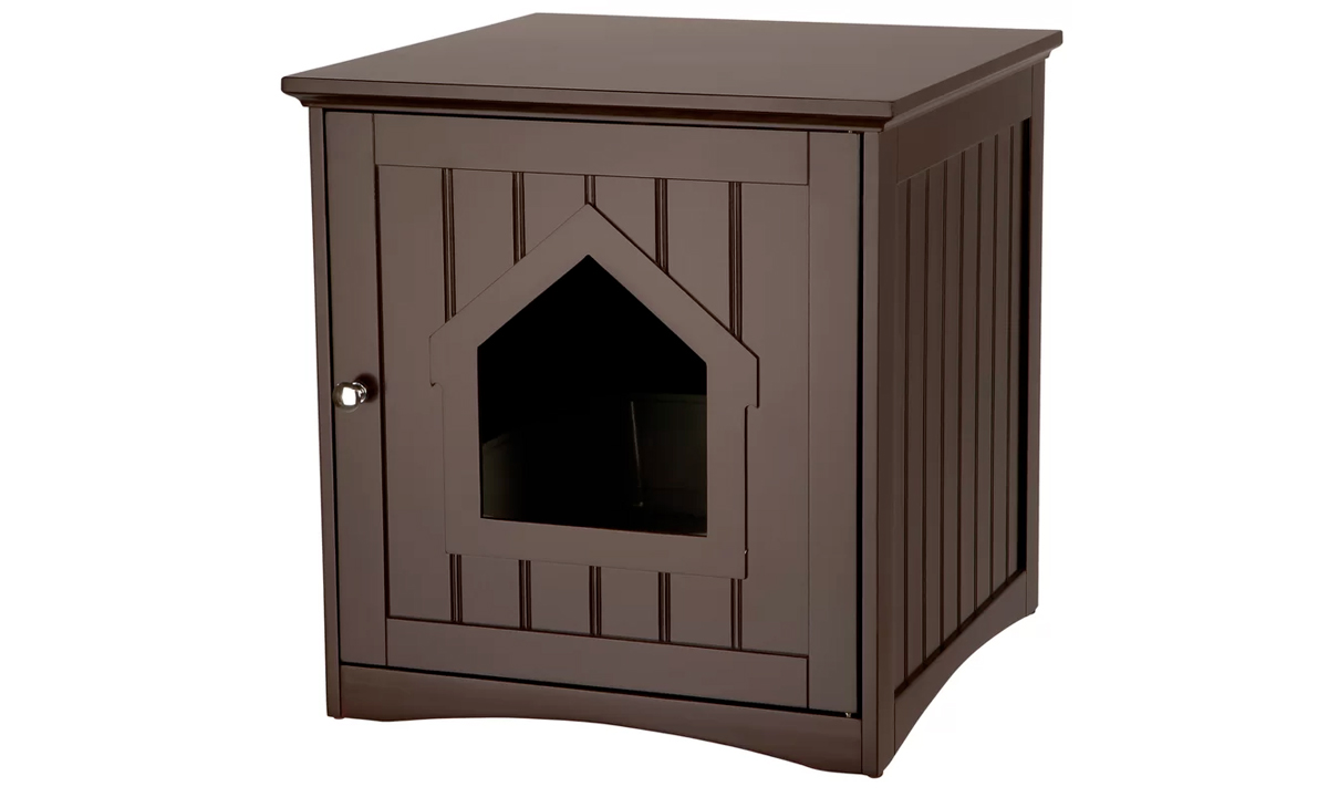Wooden Cat House And Litter Box Enclosure From Aed 949 A