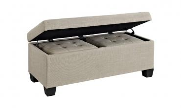 Three-Piece Storage Ottoman