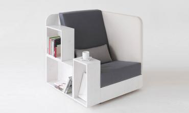 Open Book Reading Chair