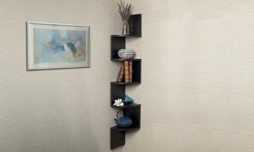 Zig-Zag 5 Tier Wall Shelf