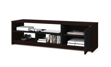 Small Space 2-Piece TV Stand and Storage Tower Set
