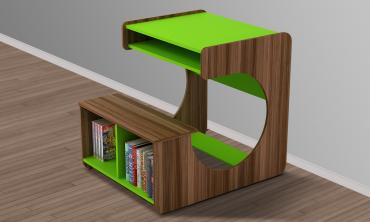 Kido Boy Study Table in Green