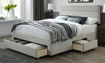 Ivy Bed Frame with Storage