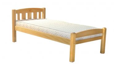Solid Wood Single Bed