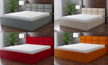Radoo Boxed Upholstered Bed Frame