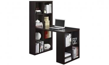 Prime Computer Desk with Storage Cubes
