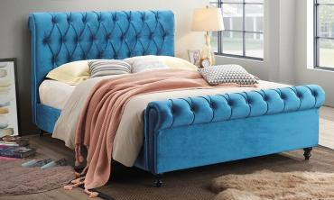 Miami Tufted Upholstered Bed
