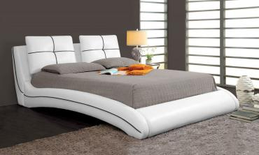 Upholstered Curved Bed Frame