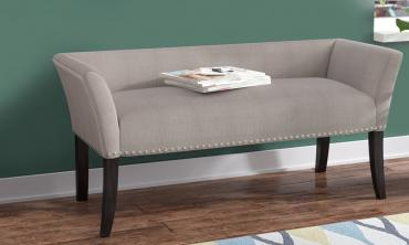 Accent Upholstered Ottoman Bench