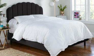 Riley Velvet Bed Frame