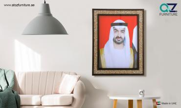 Framed Portraits of His Highness Sheikh Mohammed Bin Zayed Al Nahyan