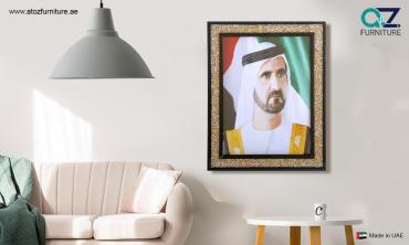 Framed Portraits of His Highness Sheikh Mohammed bin Rashid Al Maktoum