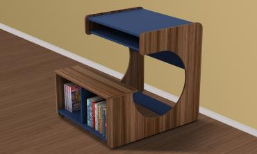 Kido Boy Study Table in Blue