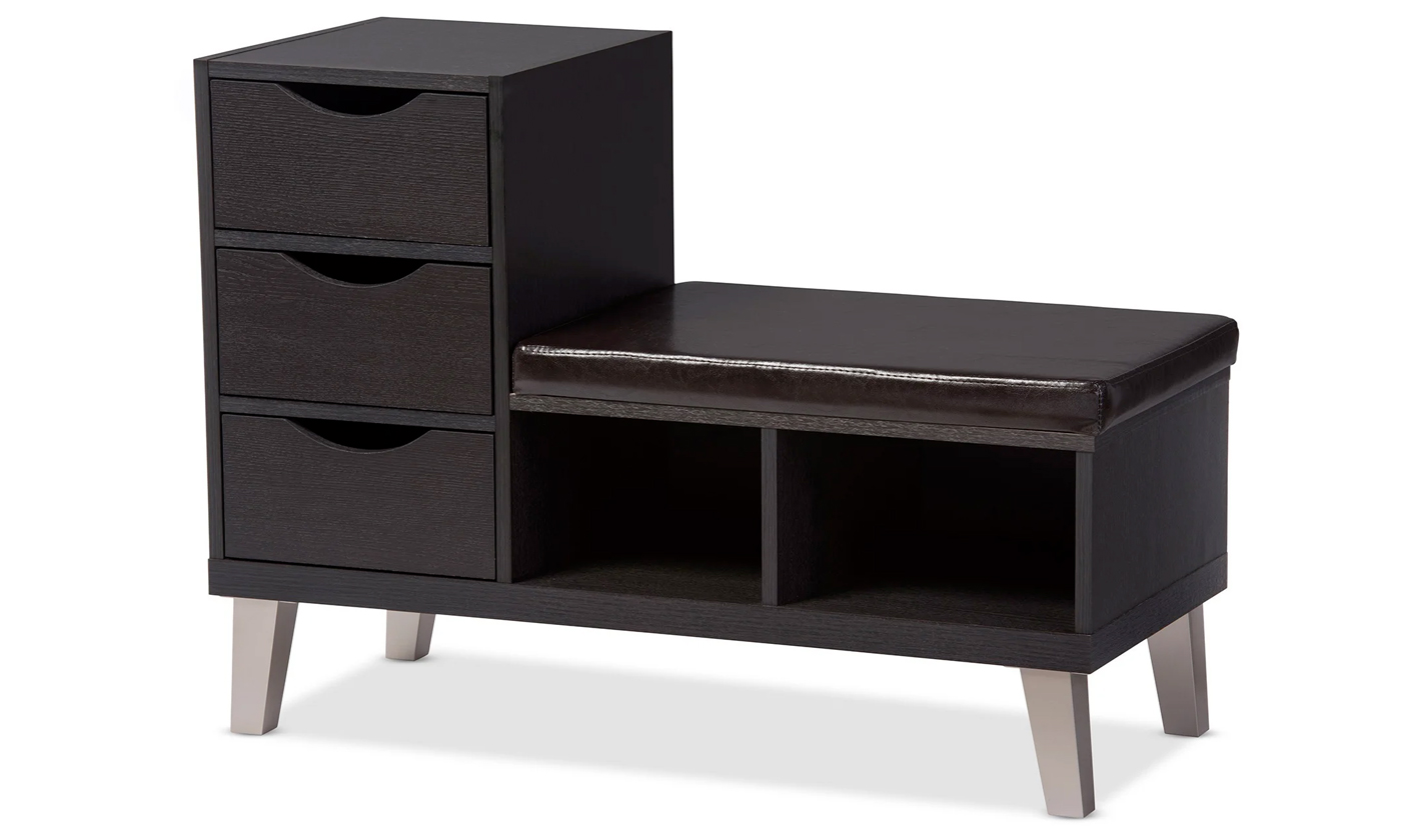 Modern Shoe Storage Cabinet With Bench From Aed 819 A To