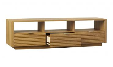 Oak Wood TV Stand for TVs up to 70-inch