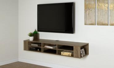 Multiple Storage Wall Mounted Media Cabinet