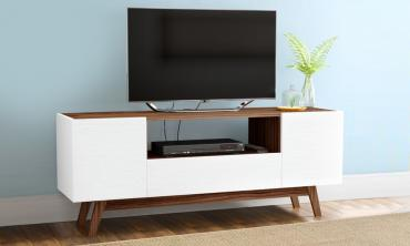 Modern TV Cabinet with 2 Doors and 1 Drawer