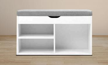 Modern Multi-Purpose Shoe Storage Bench