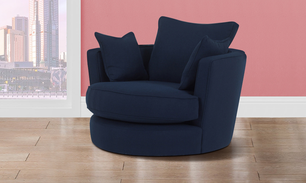 Modern Big Round Sofa Chair From Aed 1399 A To Z Furniture