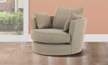 Modern Big Round Sofa Chair
