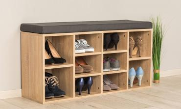 Shoe Rack Hallway Bench