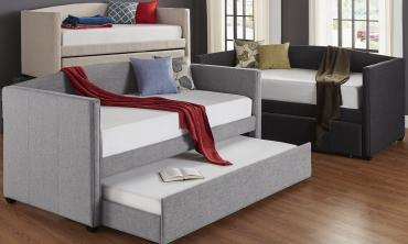 Shelter Arm Daybed and Trundle