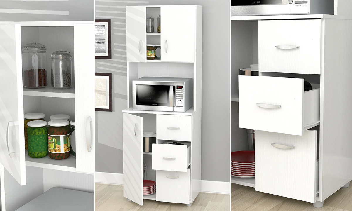 Tall Kitchen Storage Cabinet From AED 759. PrevNext