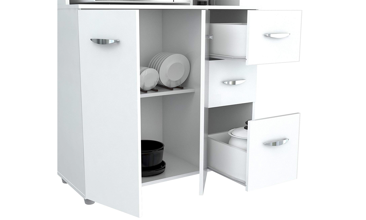 White Kitchen Storage Cabinet from AED 1059 | A to Z Furniture